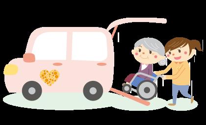 介護・福祉タクシーイメージ